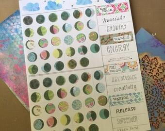 Moon Magic Sticker Sheet