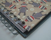 Kid Quote Journal with Sock Monkey Cover