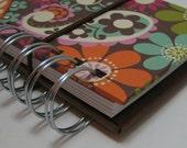 Mini Cash Envelope System Bold-Colorful Brown, Orange, Floral & Paisley Cover