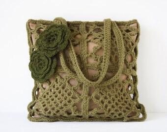 Crochet shoulderbag Olena