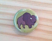 Buffalo Button or Magnet