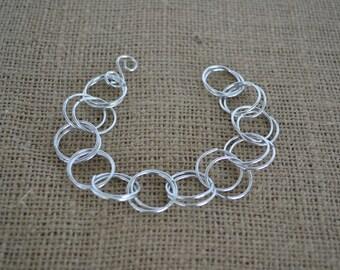 Repurpose Aluminum Bracelet
