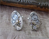 75% off ENTIRE SHOP Antique wristwatch parts cufflinks groomsmen jewelry wedding vintage jewellery cuff links