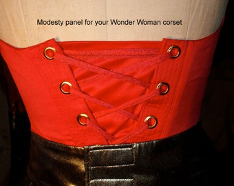 Modesty panel for your Wonder Woman Costume... (additional feature per request)