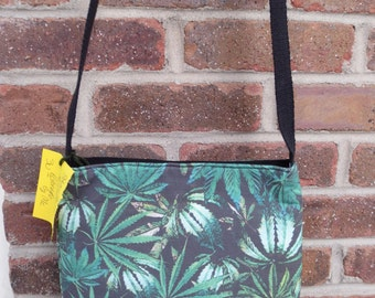 Cannabis Cross Body Bag - Mary Jane Cross Body - Cross Body Bag - Bitchin Bags