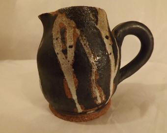 FREE SHIPPING art pottery creamer  (Vault 10)