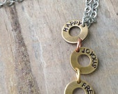 Alcoholics Anonymous Womens Sobriety Necklace Recovery Jewelry Friend Of Bill