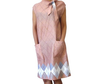 French Vintage 60s Ascot Tent Dress