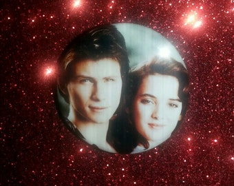 Greetings and Salutations Heathers 1.25in button pin badge