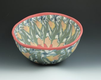 Colored Porcelain Bowl