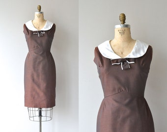 Penny Arcade dress | 1960s dress • peter pan collar 60s dress