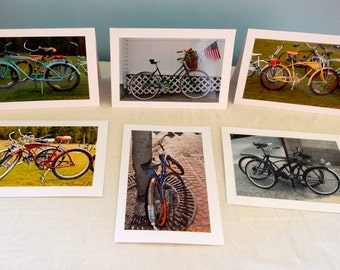 Bikes Made In Jacksonville Florida Greeting Cards Set of Six