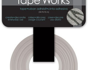 Glitter Zebra Washi Tape TapeWorks