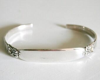 International Sterling Silver Company Royal Danish Bridal Cuff Bracelet