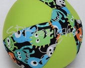 Balloon Ball - Silly Monsters with Neon Green  -  as seen with Michelle Obama on Parenting.com