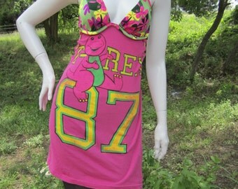 Barney t shirt bikini dress