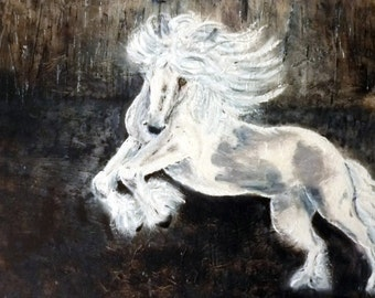 "Horse  ""Scheherazade"" (Scha-hair-eh-zod). Power and Beauty Oils"