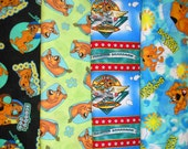 SCOOBY DOO #1  fabrics, sold individually,not as a group, sold by the Half Yard, please see body of listing
