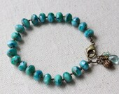 Turquoise Hand Knotted Bracelet