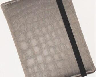 Kindle Paperwhite Case, Hardcover, Nook Glowlight Case, all sizes, Faux Alligator Paisley eReader Case