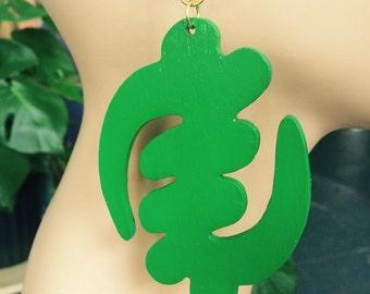 Gye Nyame in Green
