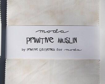 Primitive Muslin Charm Pack