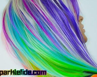 Kaleidoscopic Wig