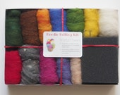 Needle Felting Kit, Starter Kit for Beginners, DIY New Hobby Craft, Wool Craft,  Wool Supplies, Learn how to needle felt kit