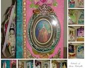 Portraits of Marie Antoinette Handmade Luxe Embellished Album