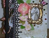 Victorian Keepsake Handmade Photo/Memory Album OOAK