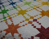 Color Splash baby quilt  NEW ITEM!!!