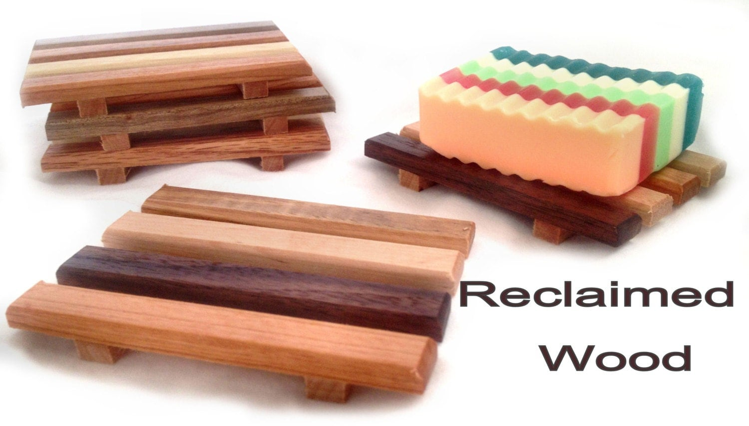 Crazy Low Price 60 Reclaimed Wood Soap Dishes By