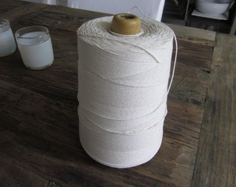 HUGE spool of cotton string. Bakers string twine