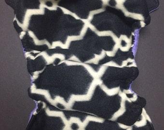 MamaBear One Size Fleece Diaper Cover - Trellis