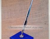Custom Colors Wedding Pen...shown in royal blue cobalt