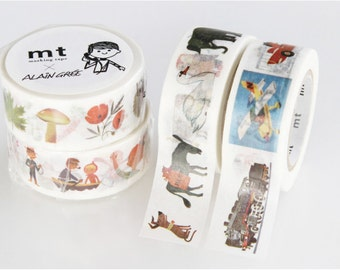 mt x artist series - mt washi masking tape - Alain Gree - 2015 summer collection