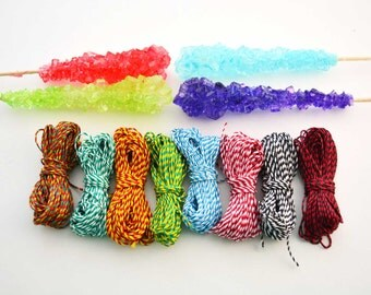 Two Tone Mix: Waxed Polyester Cord, 1mm, 8 packs of 25ft per color / Hilo Encerado, Waxed Poly, Macrame Thread / Jewelry Supplies