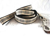 Country Blackberry Check Small/Medium Dog Collar