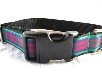 SALE! Lindsay Tartan Small/Medium Dog Collar