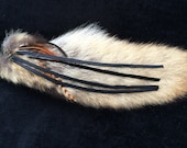 Real recycled wearable coyote tail