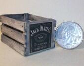 Jack Daniel's Crate  1:12 scale