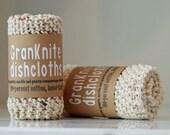 GranKnite Dishcloths: 100-percent cotton, hand-knit dishcloths --Gifts Under 10 Dollars