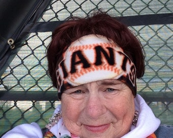 SF Giants fleece headband