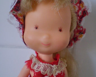 Vintage Holly Hobbie Doll AGC KTC made in Hong Kong 1976