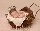 Metal Pram Carriage - Photography Prop - Newborn and Sitter - Vintage Style