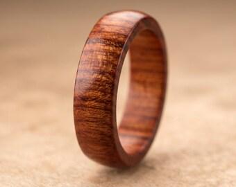 Custom Mopani Wood Ring - 6mm