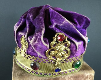 Lodge Crown- Purple