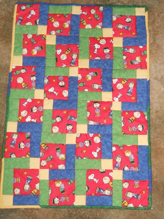 Peanuts Gang Quilt Blanket by KatQuilter
