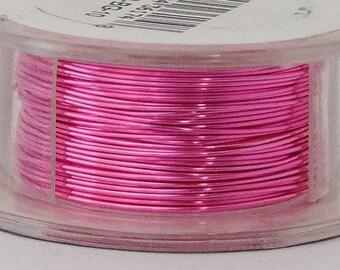 24GA Beadsmith Bubble Gum Color Non-Tarnish  Wire 10  Yards  SALE