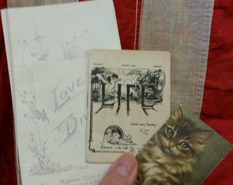 Antique Victorian Tiny Booklets from Rustysecrets